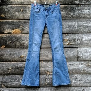 Free People Retro Super Flare Bell Bottom Jeans